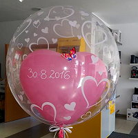 Deko-Bubble-Ballon